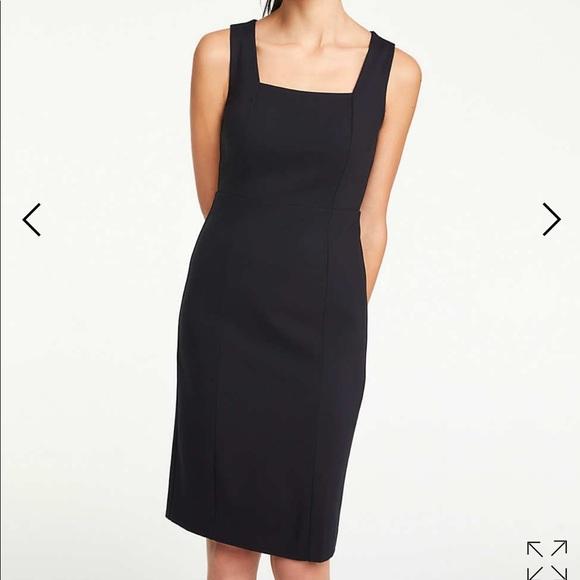 68801ca43d2 Ann Taylor Dresses   Skirts - Ann Taylor square neck ponte knit sheath dress